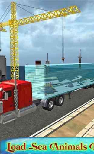 Truck transport animaux marins 1