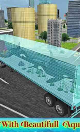 Truck transport animaux marins 2
