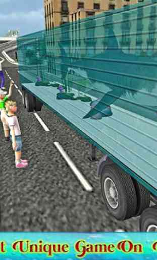 Truck transport animaux marins 3