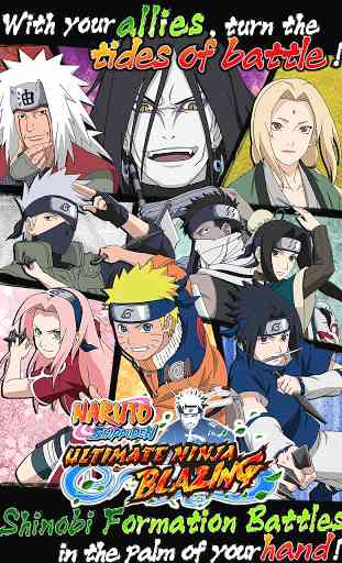 Ultimate Ninja Blazing 1