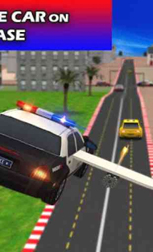 Flying Future Police Cars 2