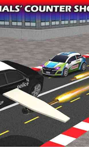 Flying Future Police Cars 4