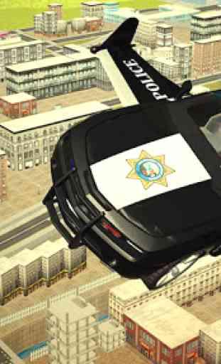Voler Police voiture 3d 1