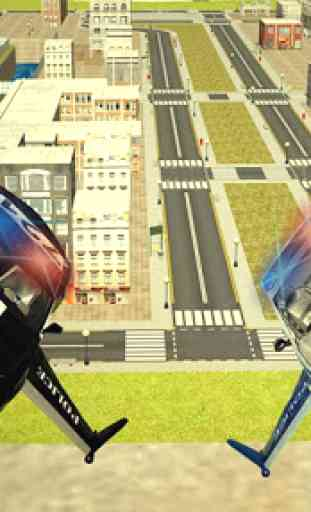 Voler Police voiture 3d 2