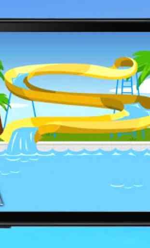 Water Park: Water slide 1