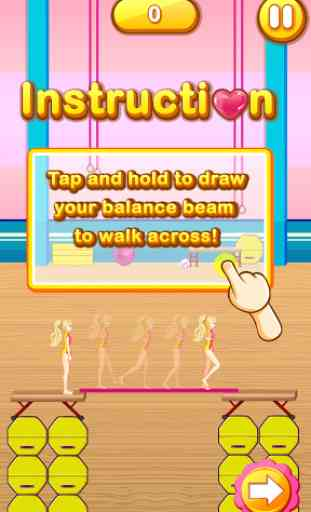 Amazing Gymnastic Balance Beam 2