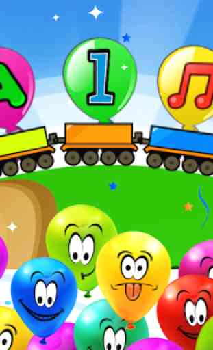 Balloon Pop Kids Games 1