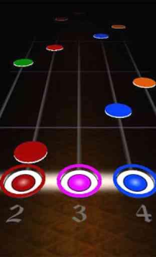 Black Guitar Hero 4