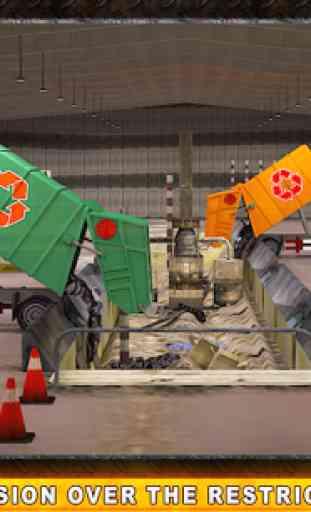 Camion poubelle réel Simulator 2