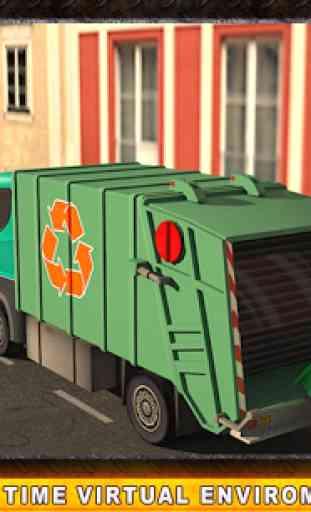 Camion poubelle réel Simulator 3