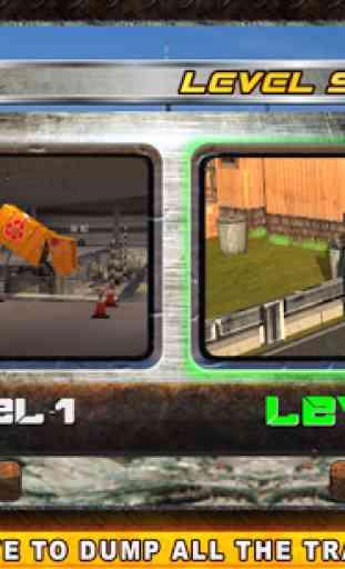 Camion poubelle réel Simulator 4