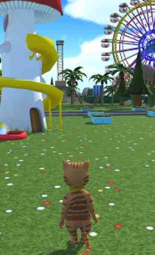 Cat Theme & Amusement Park Fun 4