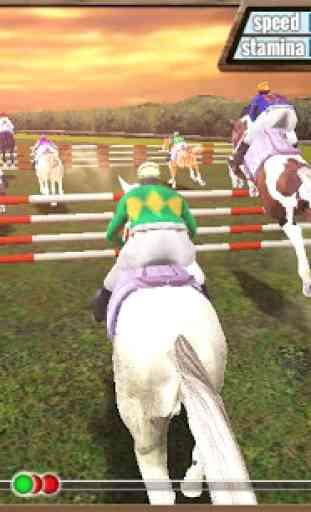 Course de chevaux 3D 1