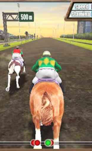 Course de chevaux 3D 2