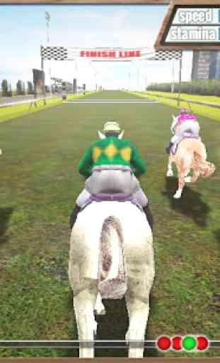 Course de chevaux 3D 4