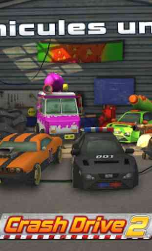 Crash Drive 2: Jeu de voiture 1