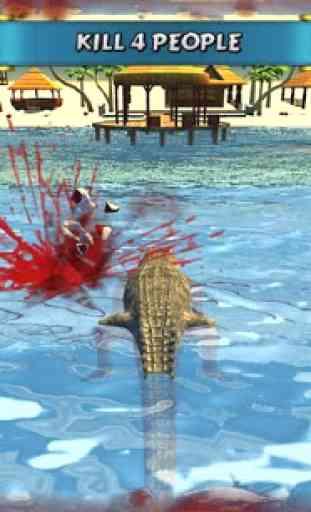 Crocodile Simulator Beach Hunt 1