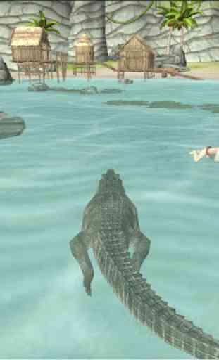 Crocodile Simulator Beach Hunt 2