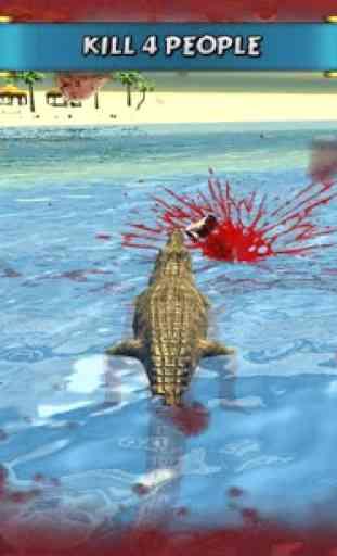 Crocodile Simulator Beach Hunt 3