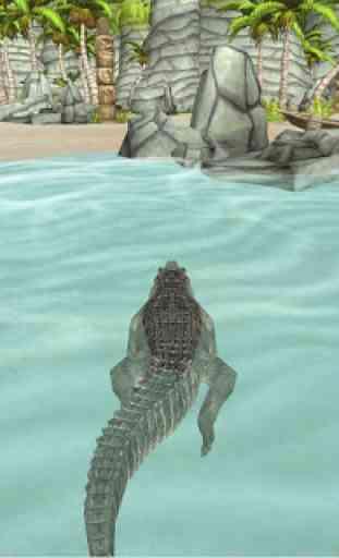 Crocodile Simulator Beach Hunt 4