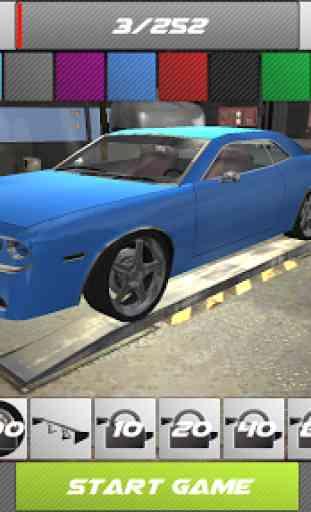 Drift 3D Modified American Car 4