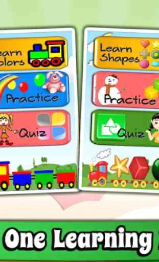 Enfants Jeux d'apprentissage 2