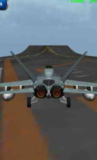 F 18 3D Fighter jet simulateur 1