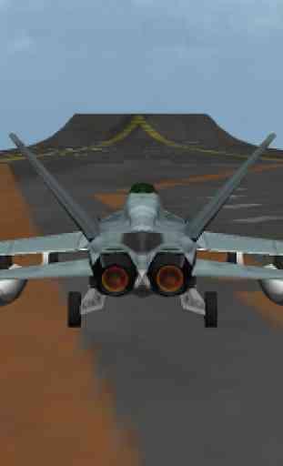 F 18 3D Fighter jet simulateur 4
