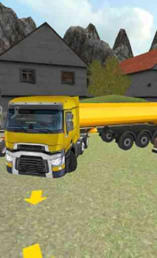 Ferme Camion 3D: Ensilage 1