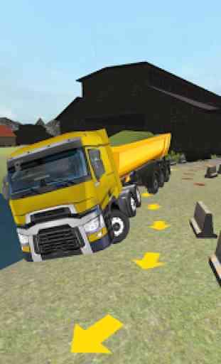 Ferme Camion 3D: Ensilage 2