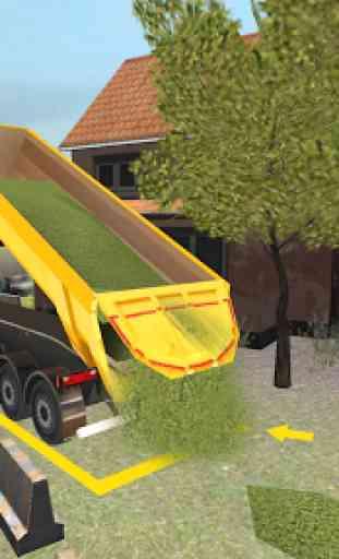 Ferme Camion 3D: Ensilage 3