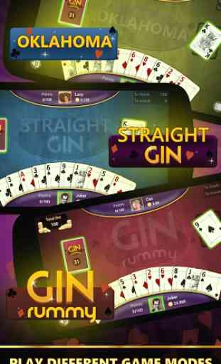 Gin Rami - Hors ligne 2