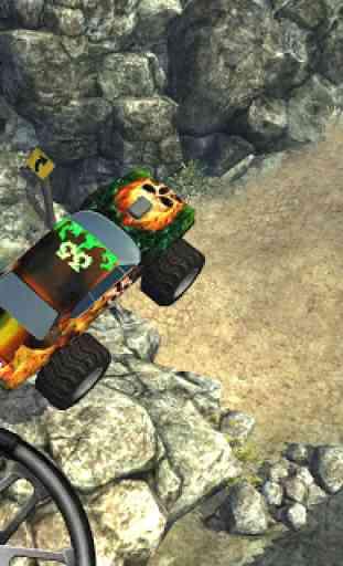 GraveDigger 4x4 Hill Climb 3D 4