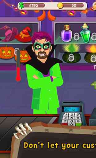 Halloween Espèces registre Sim 2