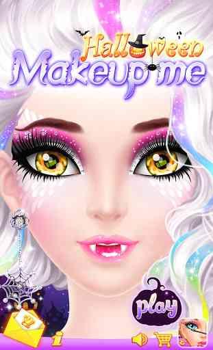 Halloween Makeup Me 1