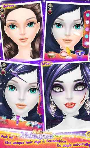 Halloween Makeup Me 3