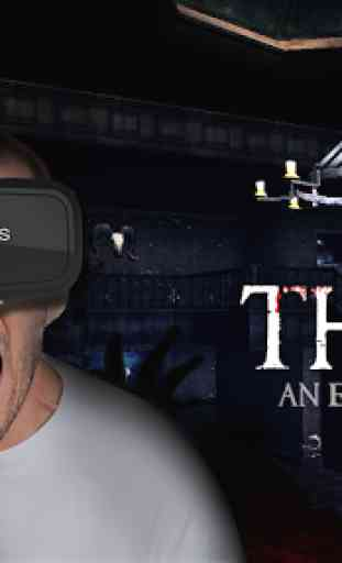 Le pari du jeu VR Horror House 1