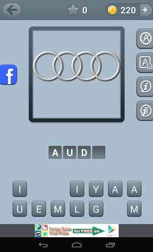 Logo de voitures Quiz 3