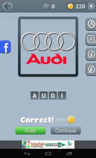 Logo de voitures Quiz 4