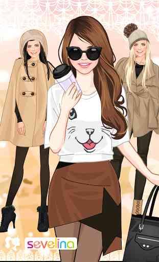 Mode automne jeu d'habillage 1