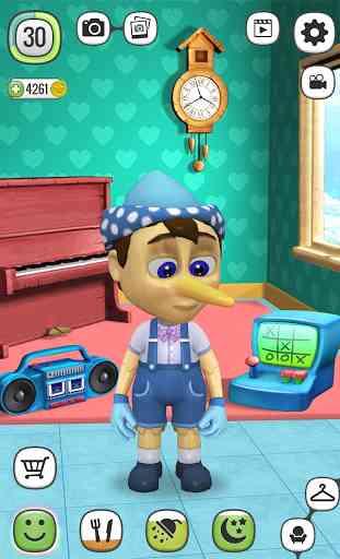 Mon Pinocchio Poupée qui Parle 1