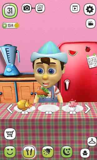 Mon Pinocchio Poupée qui Parle 2
