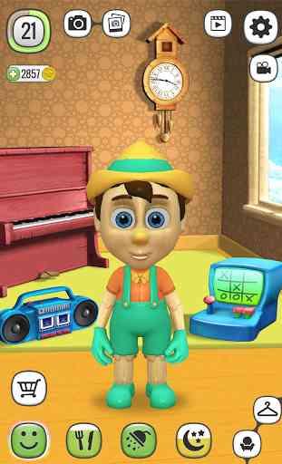 Mon Pinocchio Poupée qui Parle 4