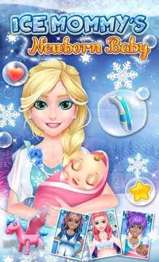 Newborn Baby Ice Maman 1