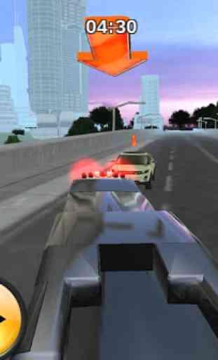 Police bus prison transport 3D 3