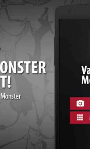 Scanner visage Vampire Monstre 1