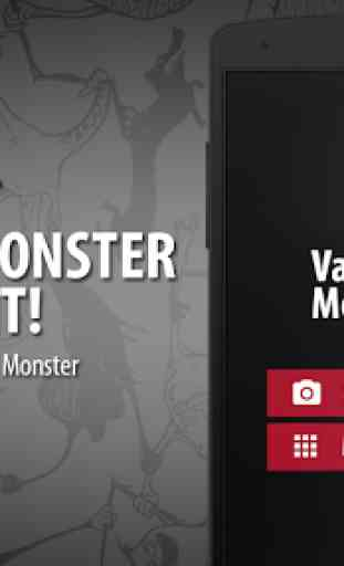 Scanner visage Vampire Monstre 4