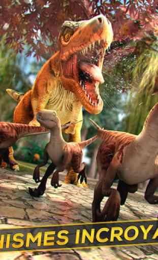Simulation de Dinosaures 3D 3