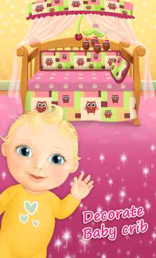 Sweet Baby Girl - Crèche 2 3