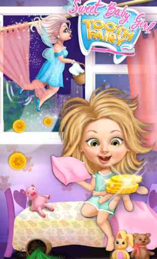 Sweet Baby Girl Tooth Fairy 1